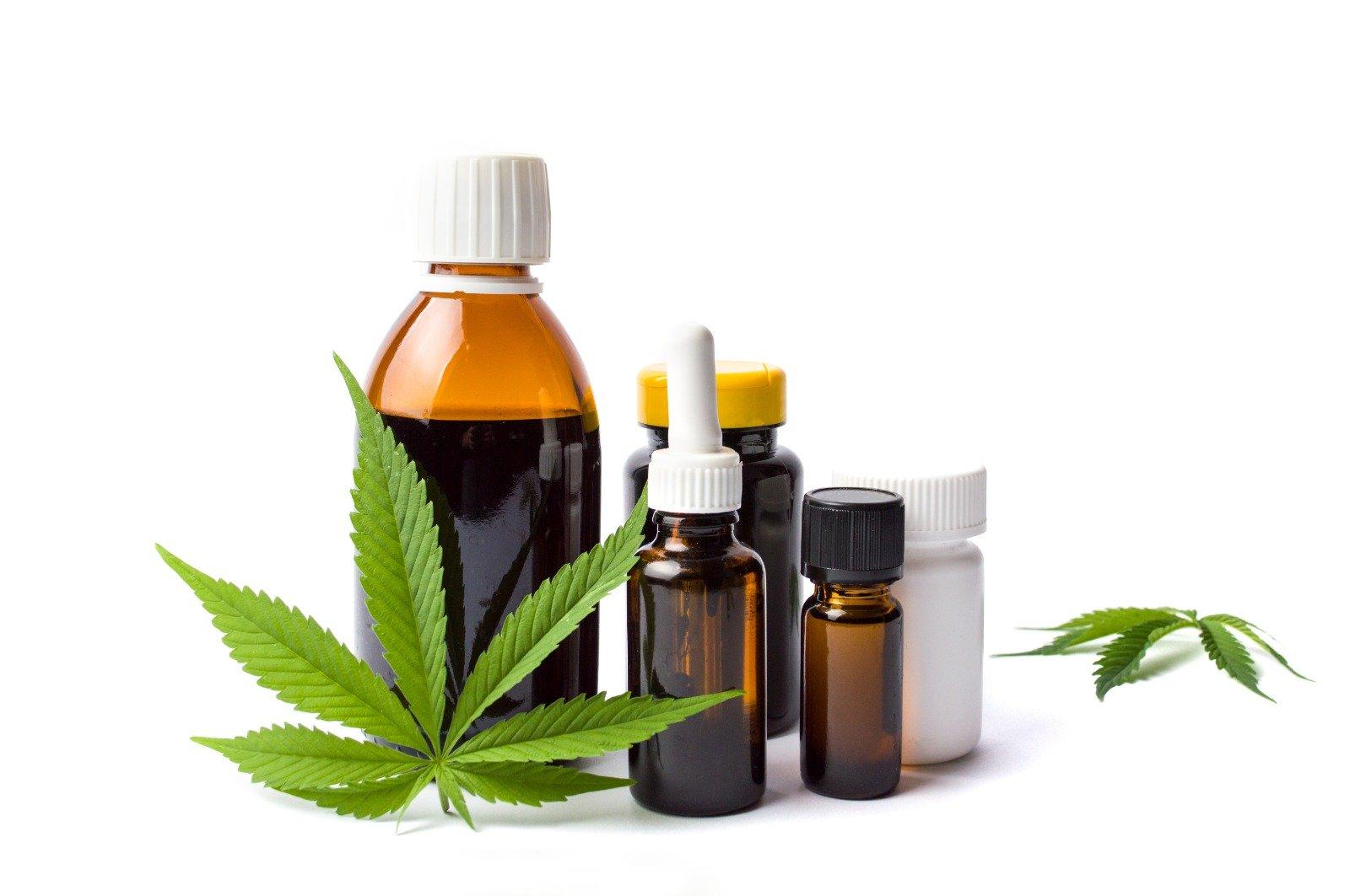 Cannabis Pharmaceutical - Oil Bottles